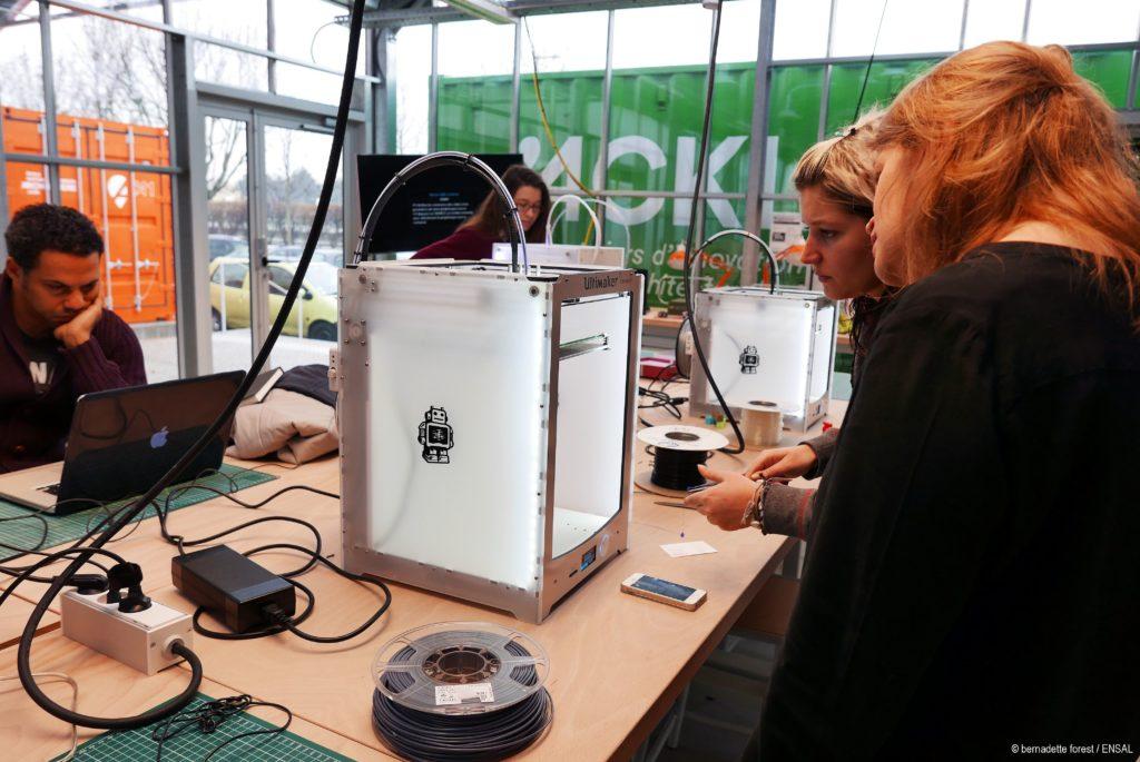 Première session de formation Acki3D à Acklab animée par Laura Michal