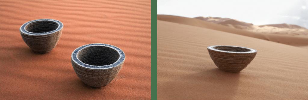 Des pièces imprimées en 3D à partir de sable et grâce à l'imprimante 3D solaire