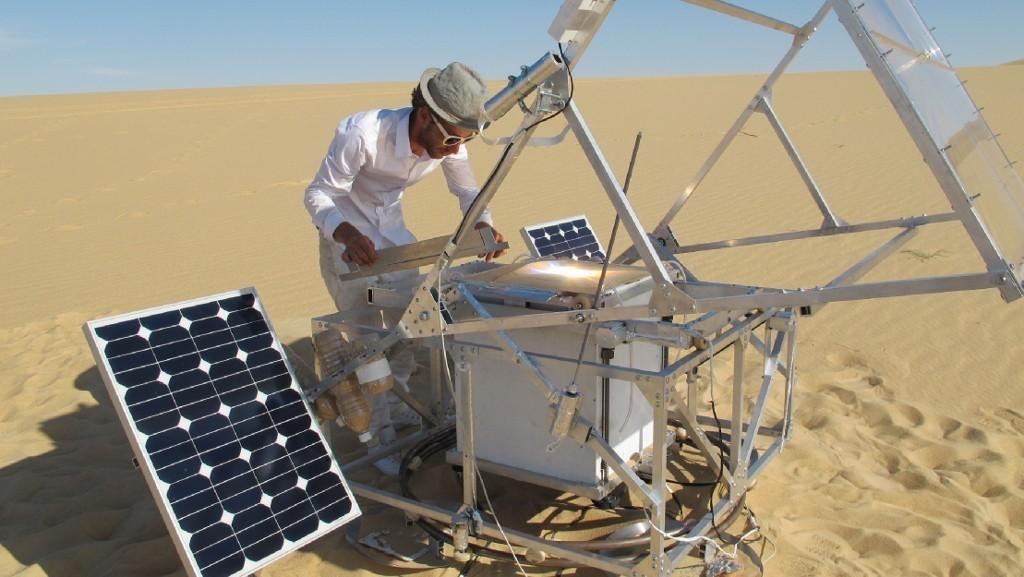 SolarSinter, l'imprimante 3D solaire