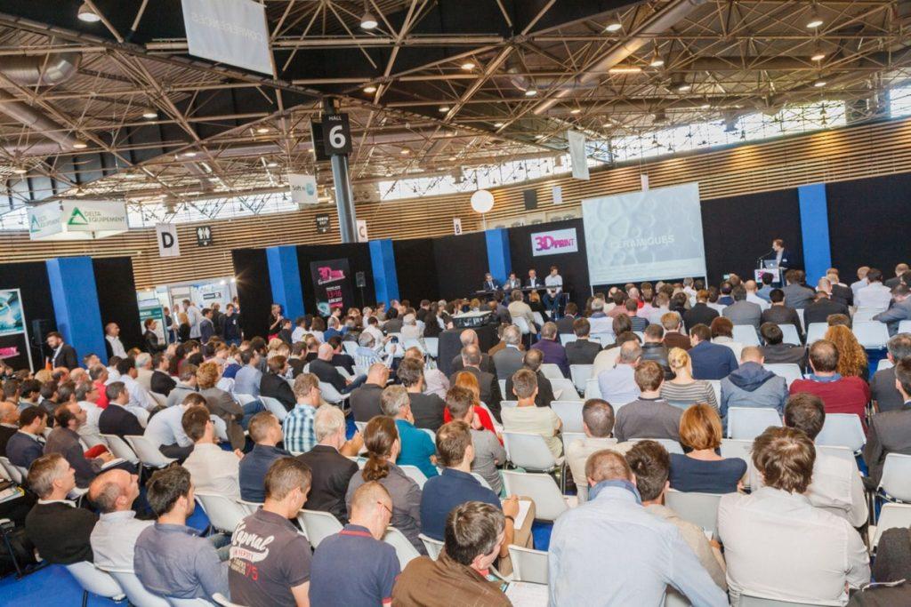 Un conférence lors du 3D Print 2017