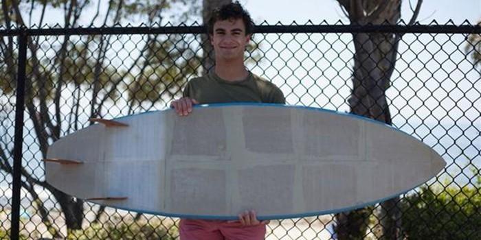 Zachary Ostroff et la planche de surf imprimée en 3D