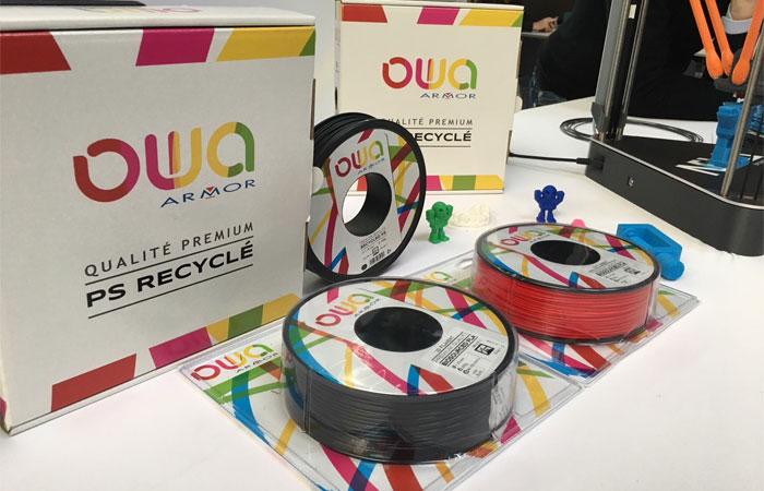 Bobines de filament PS OWA