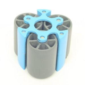 Le rotor de la pompe péristaltique
