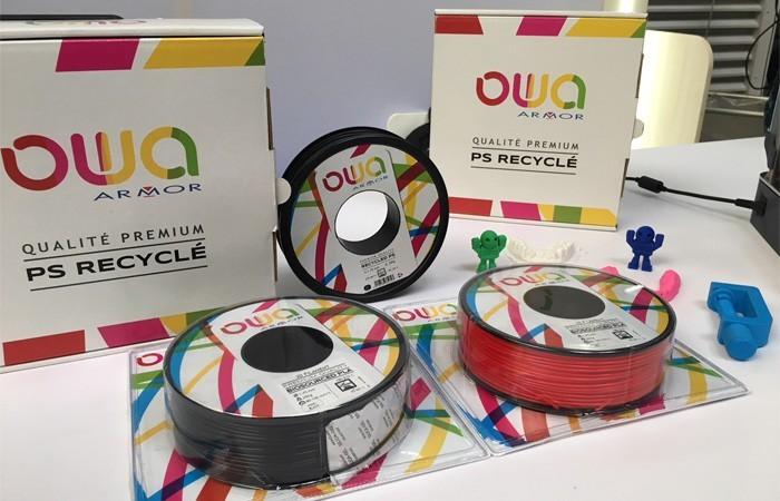 Bobines de filament 3D PS OWA