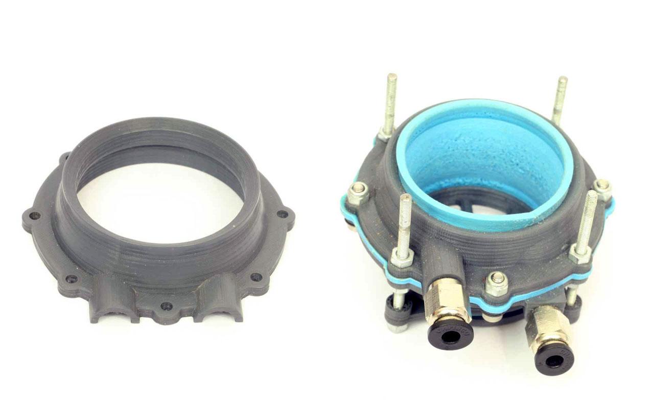 La pompe péristaltique imprimé en 3D