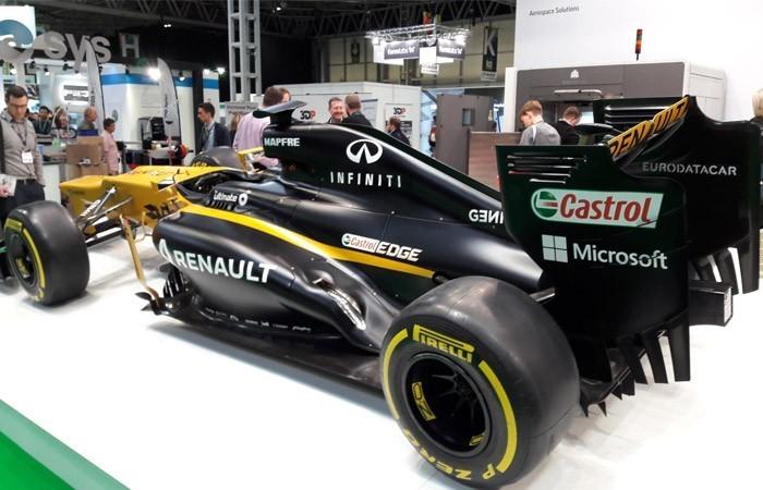 Formule 1 au TCT Show