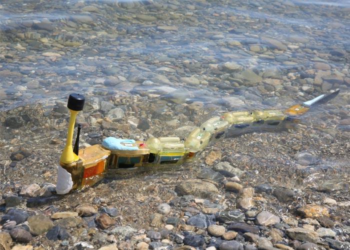 Envirobot, le robot imprimé en 3D dans l'eau