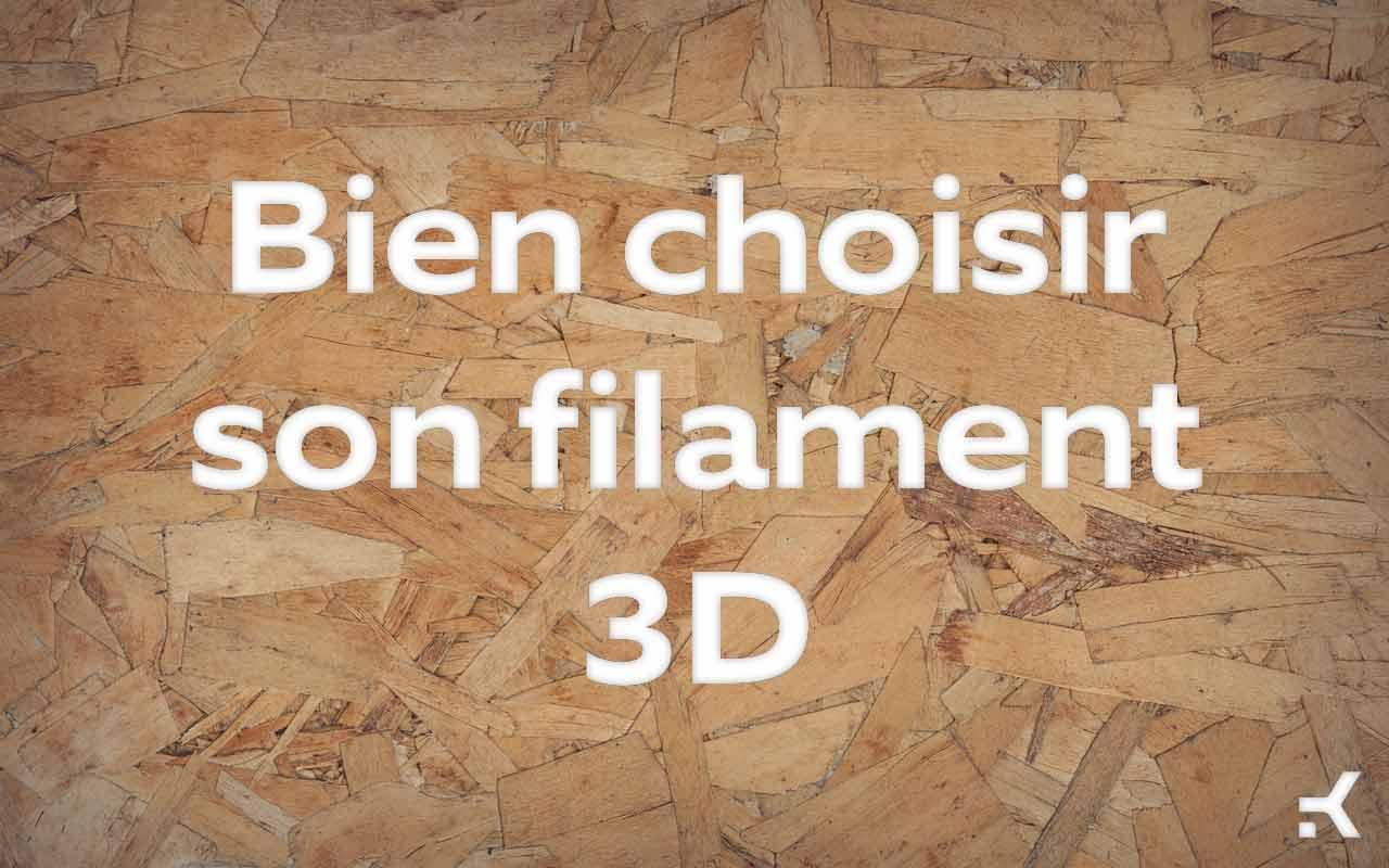 choisir son filament 3d pour impression fdm nos conseils kimya. Black Bedroom Furniture Sets. Home Design Ideas