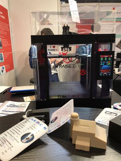 Objets imprimés en 3D par Armor et présentés à l'ADD FAB 2018