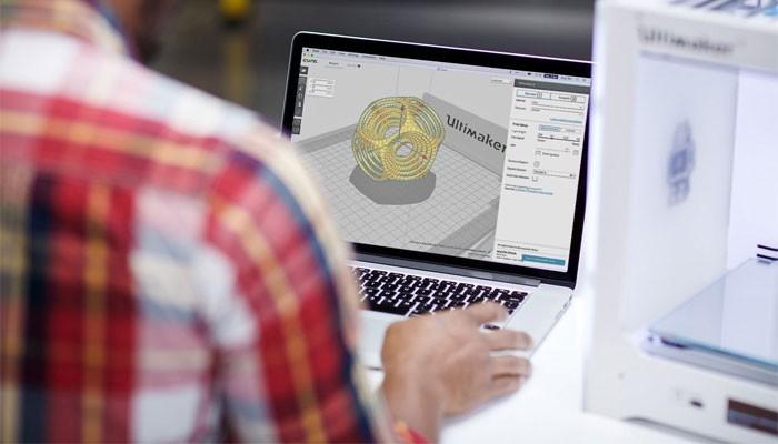 Exemple d'un logiciel de modélisation 3D