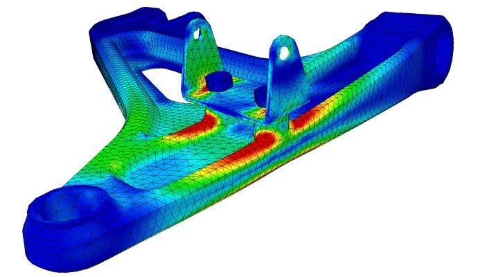 D2tection des zones à supprimer et à conserver par le logiciel d'optimisation topologique