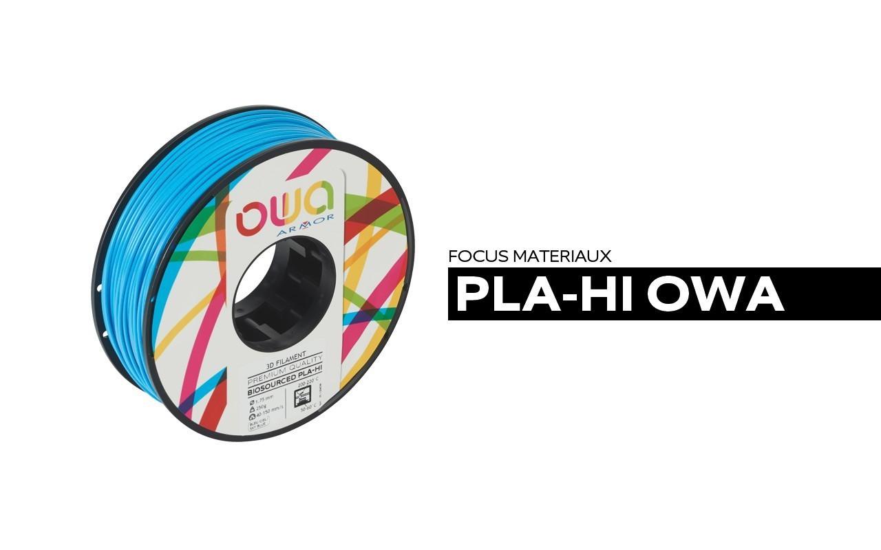 Bobine de PLA-HI OWA Bleu clair