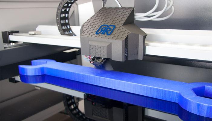 Partenariat German Reprap et Kimya : l'imprimante X1000 approuve nos filaments PEKK Carbon