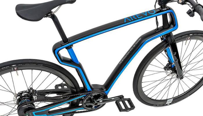 Arevo, le vélo avec un cadre réalisé en filament 3D carbone