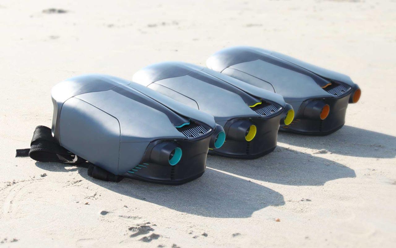 3 jet packs sous-marins CUDA