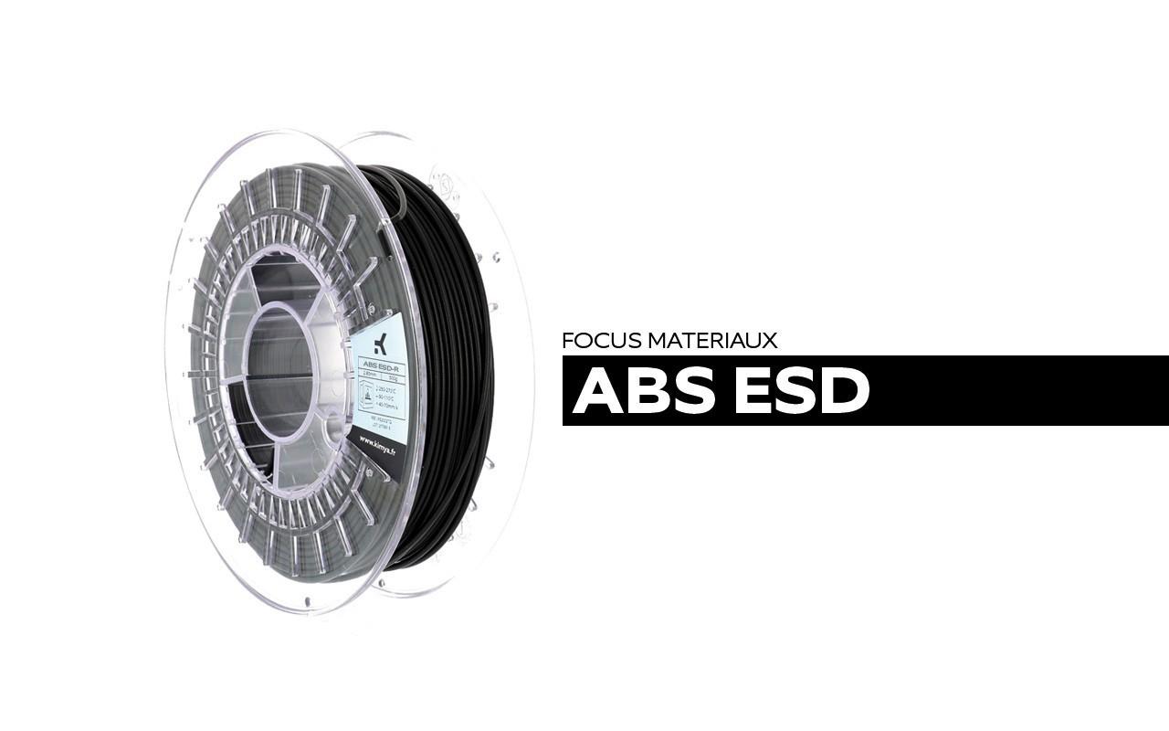 Bobine de filament ABS-ESD Kimya
